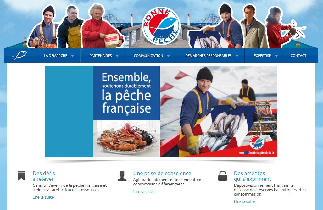 Démarche Bonne Pêche - Soutien de la Pêche Française